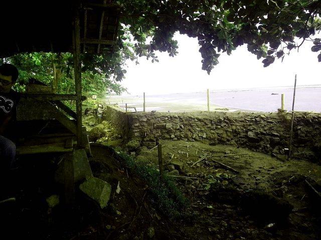 Proyek Penataan Pantai Minajaya Kecamatan Surade Kabupaten Sukabumi penuh tanda tanya