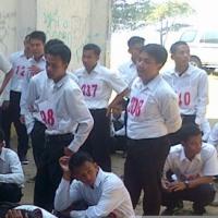 Seleksi CPNS Basarnas di Palabuhanratu
