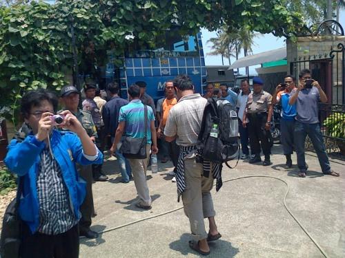 Imigran yang berhasil diamankan pihak Polresa Sukabumi