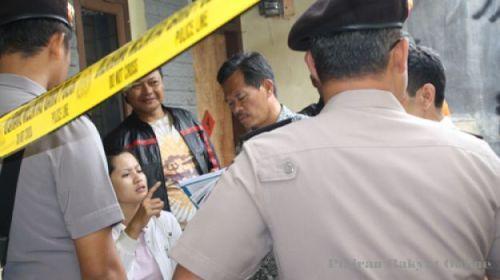 TIM Gabungan lakukan olah tempat kejadian perkara kasus bunuh diri anggota polisi.
