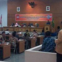 Pleno Kabupaten Sukabumi dijaga Ketat Aparat
