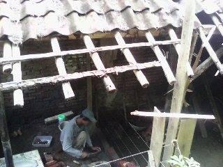 Rumah tidak layak huni di KP. Batusapi Palabuhanratu Kab.Sukabumi