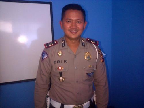 Kasat Lantas Polres Sukabumi AKP R. Erik Bangun Prakasa