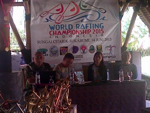Federasi Arung Jeram Indonesia (Faji) menggelar Sosialisasi WRC yang diikuti oleh pengurus Faji, Pemda, awak media dan semua stakeholders yang akan terlibat dalam dalam even tingkat dunia ini.