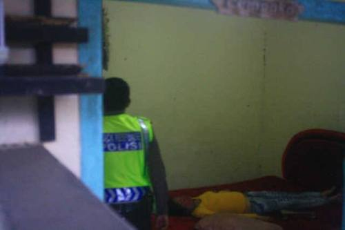 Mantan Pasutri yang tewas didalam kamar penginapan yang berada dicikakak Palabuhanratu