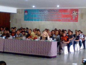 Rapat Pleno penetapan DPT Pilkada Kab.Sukabumi