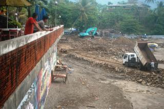 Proyek pelabuhan regional yang bikin tak nyaman pemilik hotel (Photo : Palabuhanratu Online)