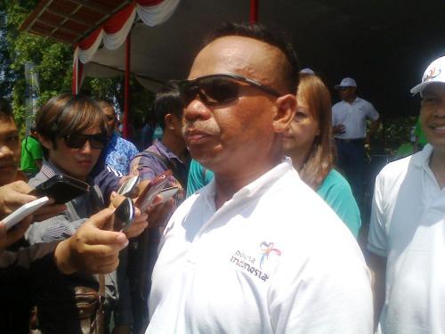 Ketua Umum PB Federasi Arung Jeram Indonesia (FAJI) Mayjen TNI (Mar) Buyung Lalana (Photo : Palabuhanratu Online)
