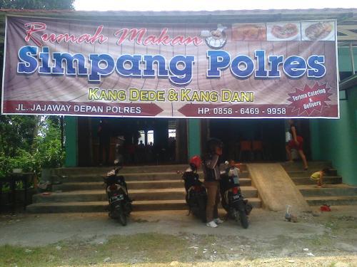 Rumah Makan Simpang Polres jalan Jajaway Kp.Tipar Palabuhanratu Kabupaten Sukabumi (Photo : Palabuhanratu Online)