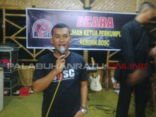 Aang Heriana terpilih sebagai ketua Bangkit Otomotif Sukabumi Club (BOSC) Palabuhanratu (Photo : Palabuhanratu Online)
