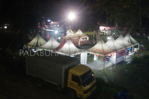 Jambore Daerah Komunitas motor ninja sejabotabek, Jabar dan Banten di Lapangan SBH Palabuhanratu (Photo : Palabuhanratu Online)