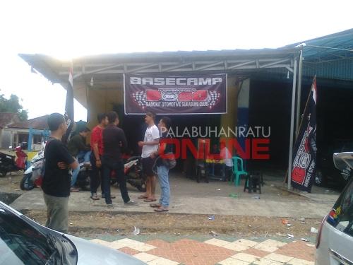Basecamp BOSC Jalan A.Yani Jajaway Palabuhanratu Kabupaten Sukabumi Foto : Palabuhanratu Online