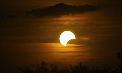 Gerhana matahari total @Palabuhanratu Online