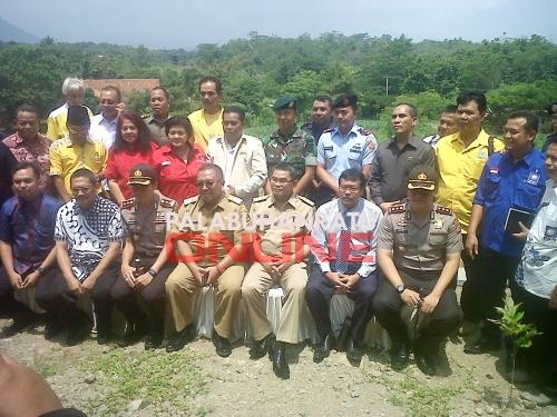 Silaturahmi Para Pimpinan Partai Politik dengan Bupati dan Wakil Bupati serta  jajaran Forum Komunikasi Pimpinan Daerah (Forkopimda) Kabupaten Sukabumi