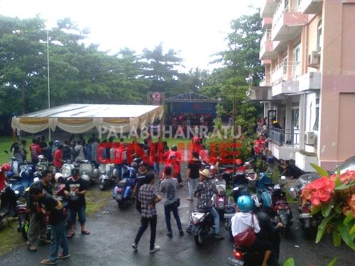 Anniversary ke 14 Palabuhanratu Vespa Club Foto : Palabuhanratu Online