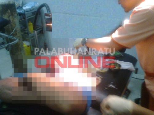 - Saiful alias Duseng (21) warga Kp.Cilangkap RT.13 RW.4 Ds.Buniwangi Kecamatan Palabuhanratu Kabupaten Sukabumi meninggal dunia akibat tersengat aliran listrik. Foto : Palabuhanratu Online